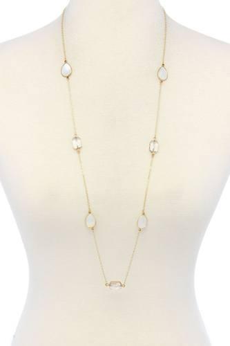 7 Stones Trendy Necklace