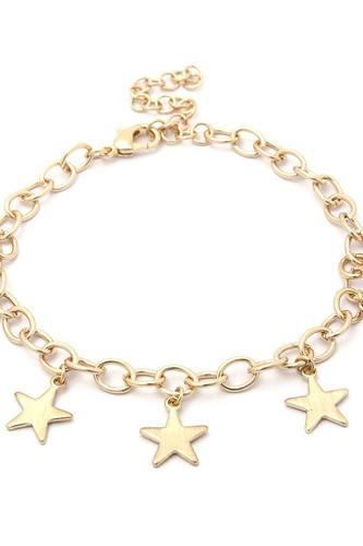 Star Charms Metal Bracelet