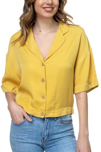 Boxy Button Down Shirt