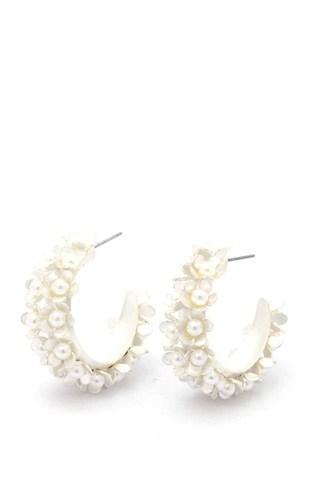 Chunky Flower Earring