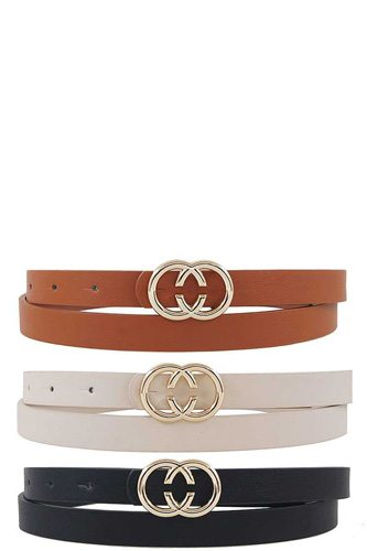 3pcs. Hot Trendy Stylish Belts Set
