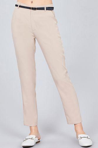 Classic Woven Pants W/belt