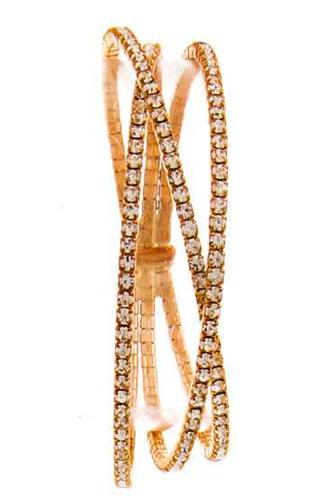 Trendy Multi Layer Rhinestone Bracelet