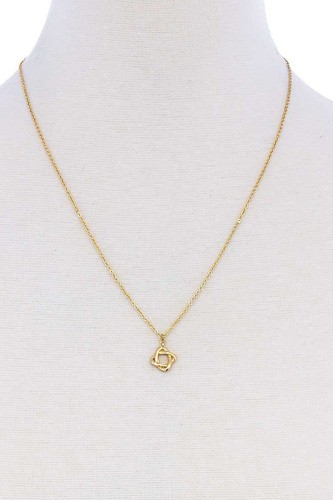 Fashion Rhinestone Cute Pendant Necklace
