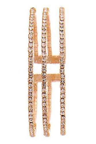 Triple Raw Fashion Rhinestone Bracelet