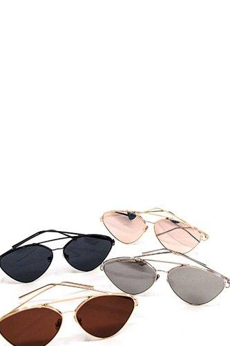 Classy Modern Aviator Sunglasses