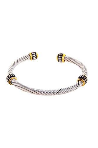 Stylish Trendy Twisted Wire Bracelet