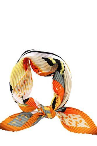 Fashion Pleated Multi Pattern Bandana