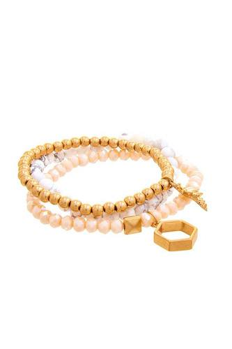 Multi Beaded Fashion Bracelet