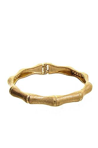 Fashion Bamboo Shope Metal Bracelet