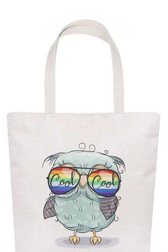 Stylish Cute Sunglasses Owl Print Ecco Tote Bag