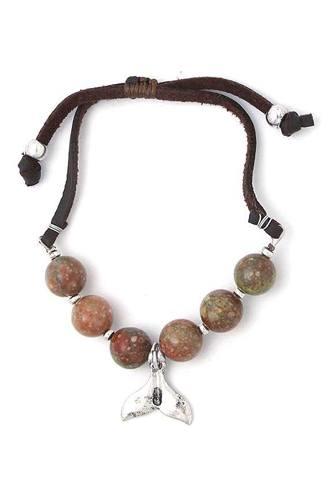 Tale Beaded Adjustable Bracelet