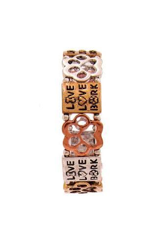 Live Love Bark Fashion Bracelet