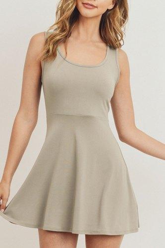 Slim Fit Mini Dress