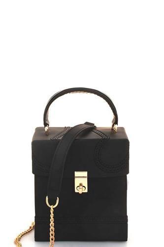 Stylish Cute Square Tender Jelly Crossbody Bag