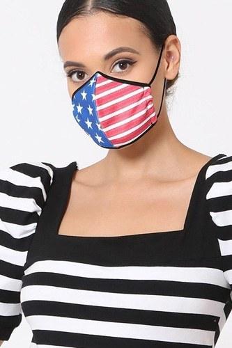 3d Fashion Reusable Face Mask