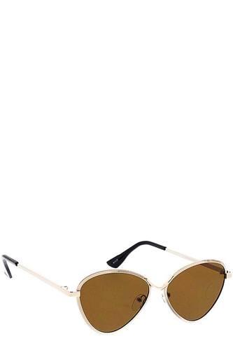 Shaded Tint Round Sunglasses