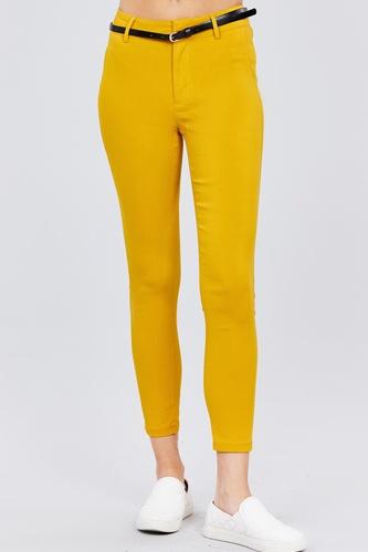 Bengaline Belted Pants