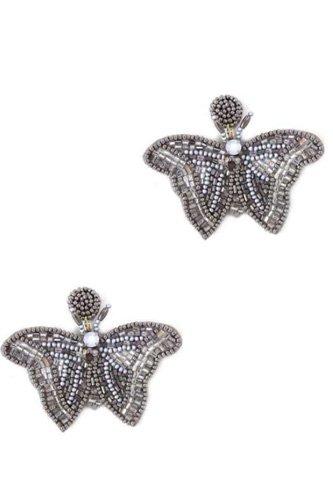 Butterfly Beaded Fashion Earrings