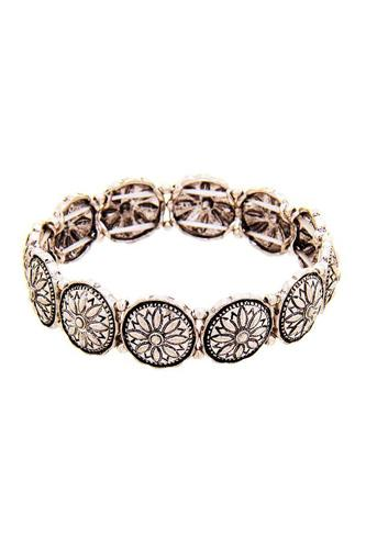 Chic Flower Stretchable Bracelet