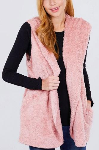 Faux Fur Fluffy Vest