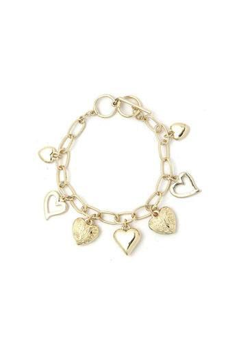 Fashion Multi Heart Bracelet