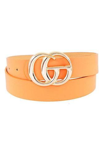 Stylish Trendy Letter Buckle Belt