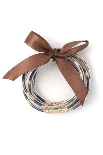 Animal Print Pattern Jelly Bracelet