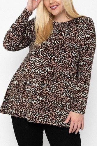 Cheetah Print Tunic