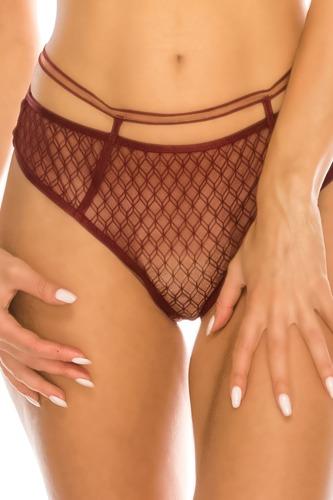 Geometric Mesh Bikini