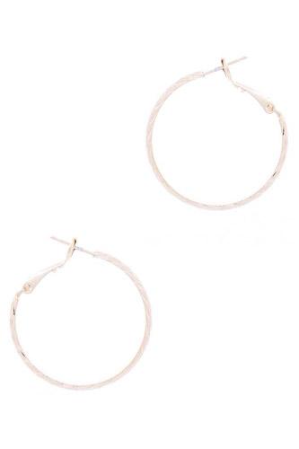 Metal Basic Hoop Earring