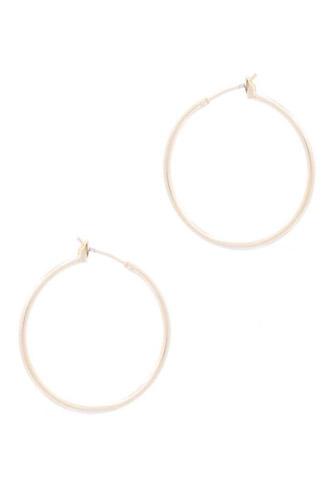Basic Metal Hoop Earring