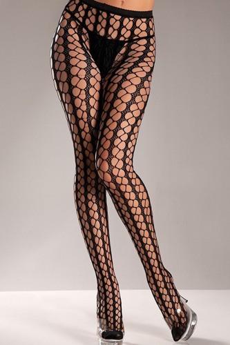 Nylon Seamless Warning Net Pantyhose
