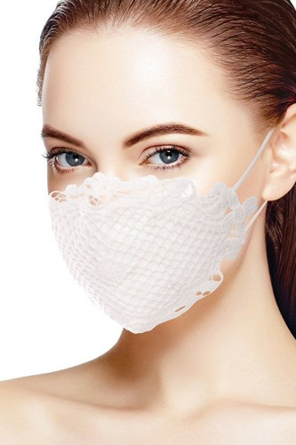 3d Lace Cotton Face Mask
