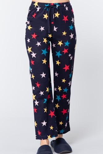 Star Print Cotton Pajama