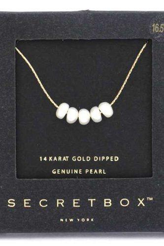 Secret Box Genuine Pearl Necklace