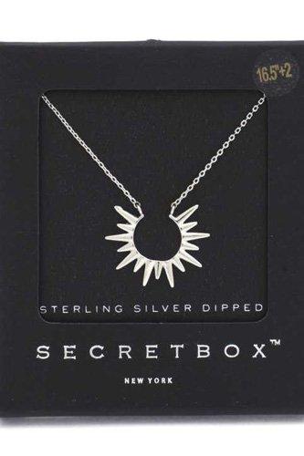 Secret Box Sun Charm Neclace
