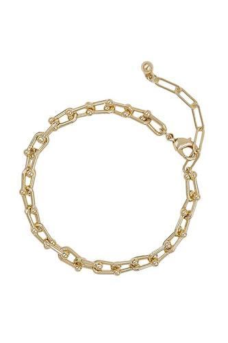 Metal Unique Chain Bracelet