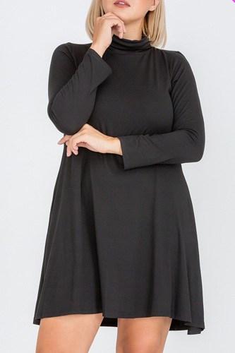 Plus Size Flare Dress
