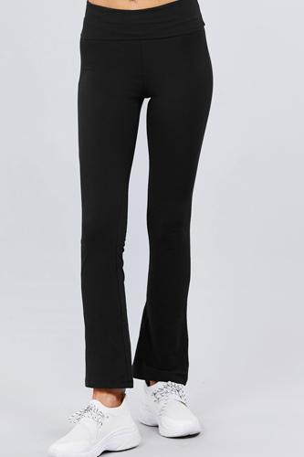 Banded Waist Yoga Pants