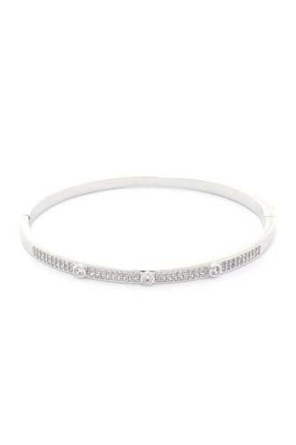 Cubic Zirconia Encrusted Bracelet