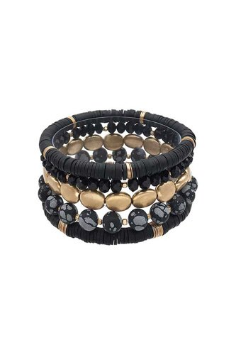 Multi Style Natural Stone Stretch Bracelet