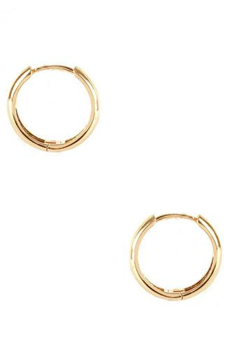 Basic Metal Huggie Earring