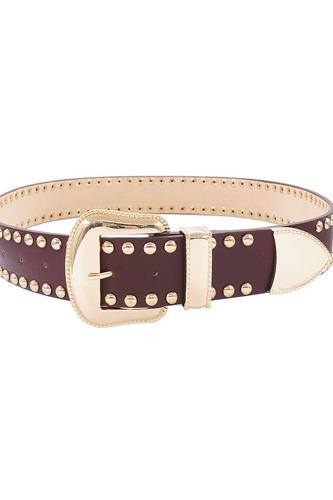 Fashion Studded Western Belt
