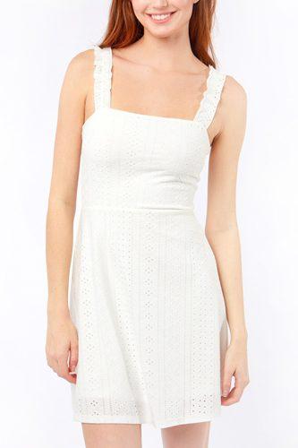 Knit Solid Mini Tank Torso Dress
