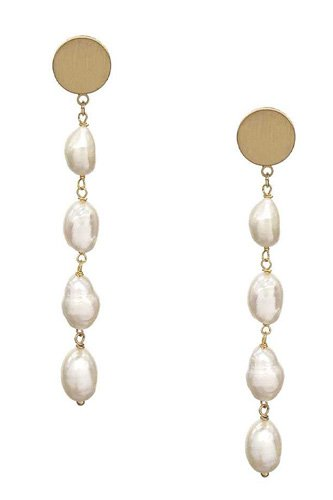 Fashion Pearl Drop Earring