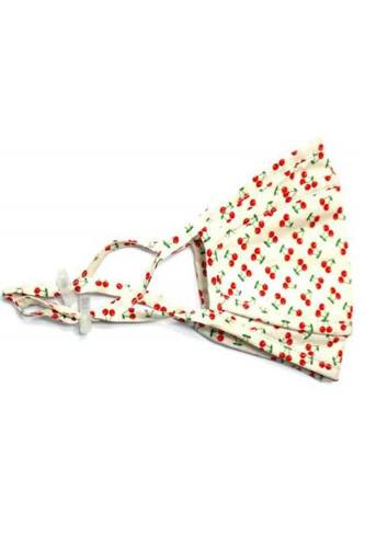 3d Stereoscopic Cherry Design2 Cotton Mask
