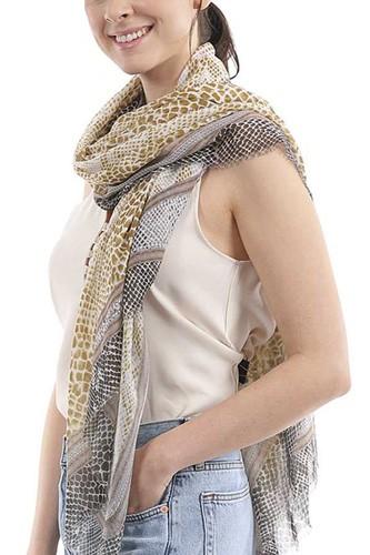 Fashion Snake Skinny Scarf