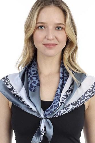 Fashion Leopard Pattern Print Neck Scarf