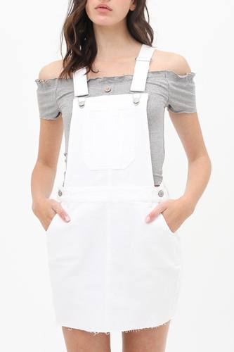 Square Neck Adjustable Shoulder Straps Dress